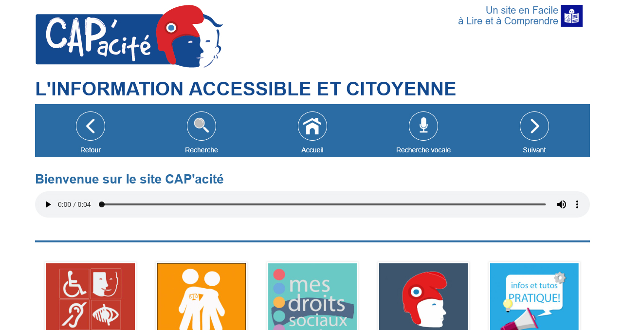 Capacite.net : un site web accessible combinant FALC & RGAA