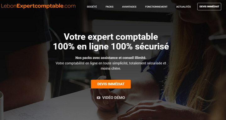 Refonte du site Internet Lebonexpertcomptable