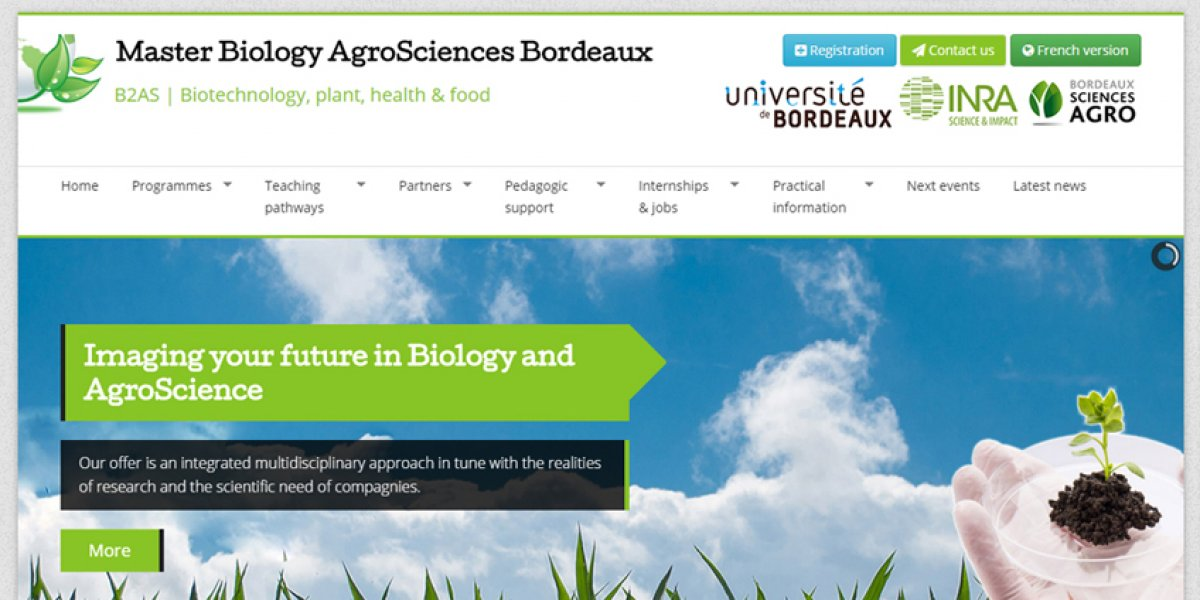 Bordeaux Biology AgroSciences Master (B2AS)