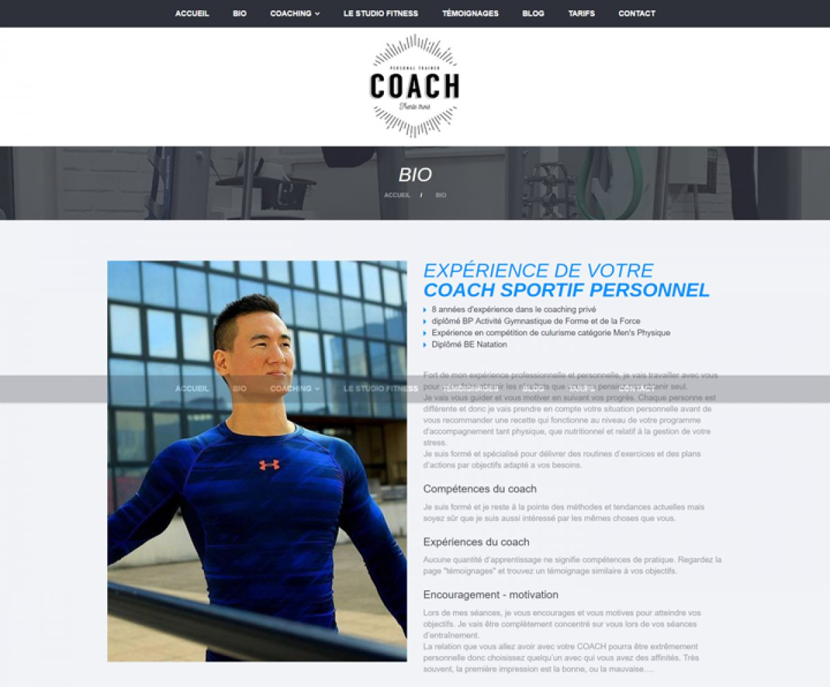 Site Coaching sportif Bordeaux