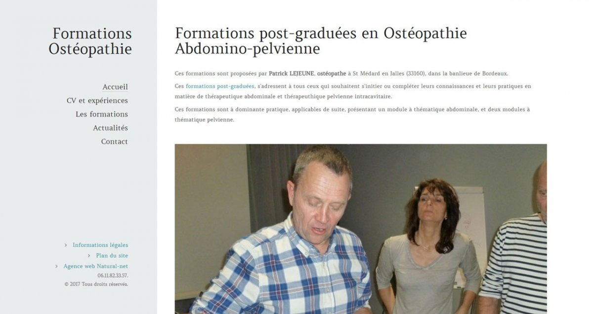 Formations Ostéopathie