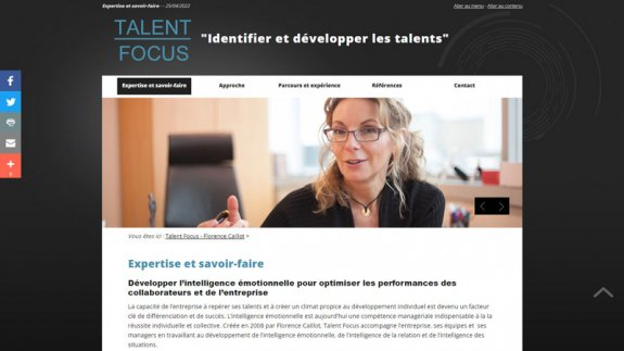 Talent Focus - Florence Caillot